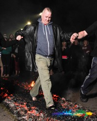 firewalking for charity picture by mark in time photography events